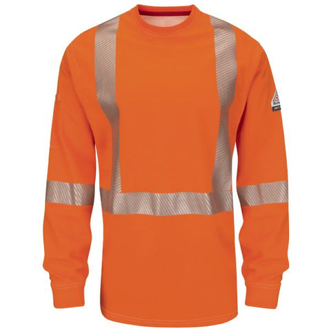 BULWARK IQ SERIES LONG SLEEVE CSA TEE (QT34) - True Safety Gear