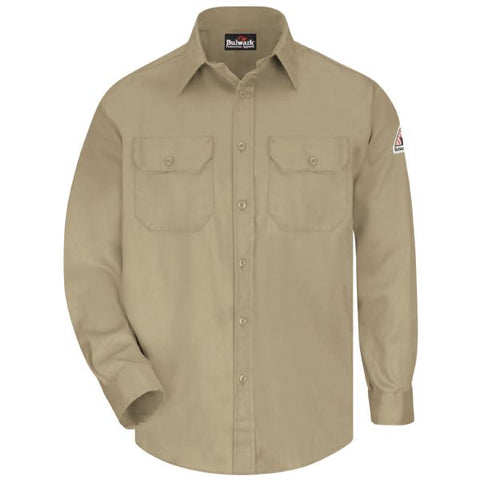 Bulwark UNIFORM SHIRT - EXCEL FR  COMFORTOUCH ( SLU8 ) - True Safety Gear