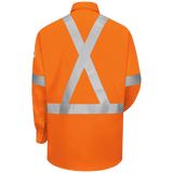 BULWARK WORK SHIRT W/ CSA STRIPING (SLUS) - True Safety Gear