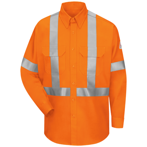 BULWARK WORK SHIRT W/ CSA STRIPING (SLUS)