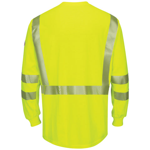 BULWARK HI-VISIBILITY LIGHTWEIGHT T-SHIRT (SMK6) - True Safety Gear