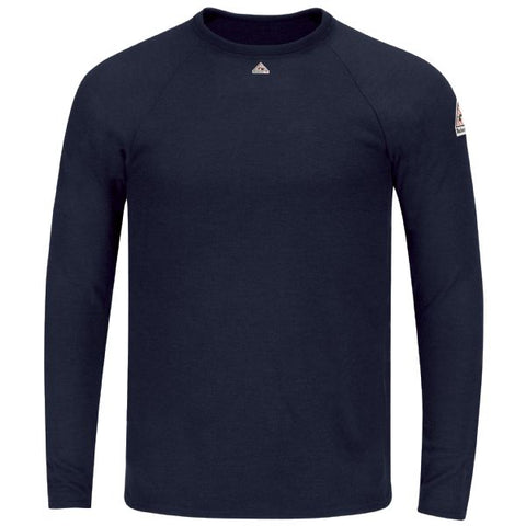 Bulwark LONG SLEEVE TAGLESS T-SHIRT(SMT4) - True Safety Gear