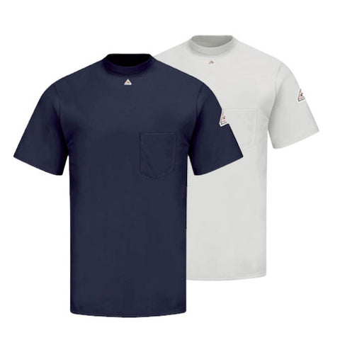Bulwark SHORT SLEEVE TAGLESS T-SHIRT - EXCEL FR (SET8) - True Safety Gear