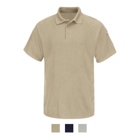 Bulwark CLASSIC SHORT SLEEVE POLO - COOLTOUCH( SMP8 ) - True Safety Gear