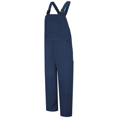 Bulwark Navy UNLINED BIB OVERALL - NOMEX® IIIA (BNF8) - True Safety Gear