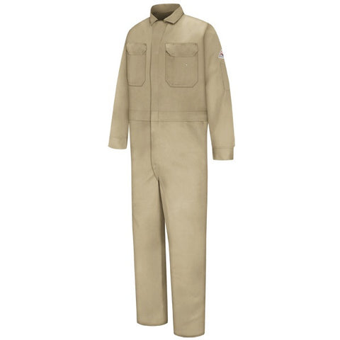 Bulwark Khaki DELUXE COVERALL - EXCEL FR (CED2) - True Safety Gear