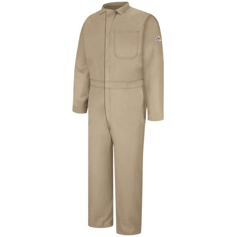 Bulwark Tan CLASSIC COVERALL - NOMEX (CNC2) - True Safety Gear