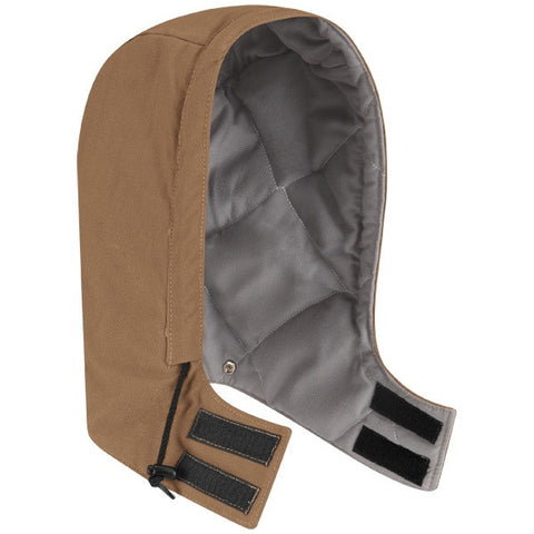 BULWARK BROWN DUCK UNIVERSAL FIT SNAP-ON HOOD - EXCEL FR COMFORTOUCH (HLH2)