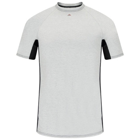Bulwark SHORT SLEEVE FR TWO-TONE BASE LAYER - EXCEL FR ( MPU4) - True Safety Gear