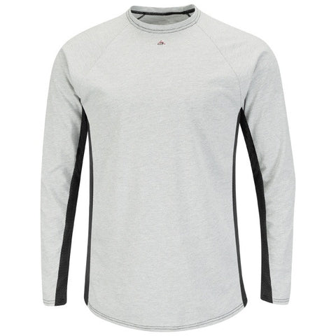 Bulwark LONG SLEEVE FR TWO-TONE BASE LAYER- EXCEL FR (MPU8) - True Safety Gear