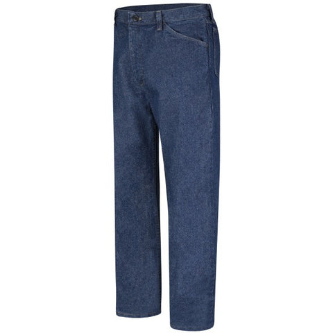 BULWARK CLASSIC FIT PRE-WASHED DENIM JEAN - EXCEL FR (PEJ4) - True Safety Gear