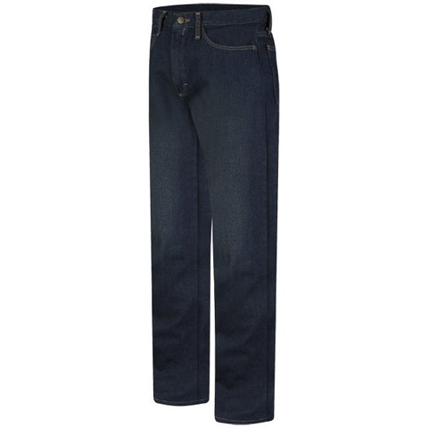 BULWARK STRAIGHT FIT SANDED DENIM JEAN - EXCEL FR (PEJM) - True Safety Gear