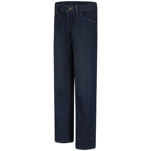Bulwark WOMEN'S STRAIGHT FIT SANDED DENIM JEAN - EXCEL FR ( PEJW ) - True Safety Gear