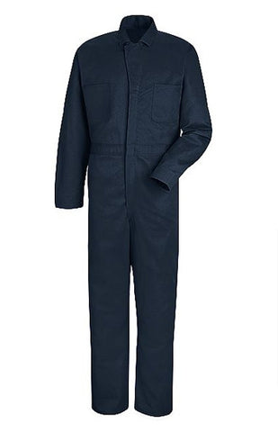 Red Kap Button Front Cotton Coverall (RCC16) - True Safety Gear