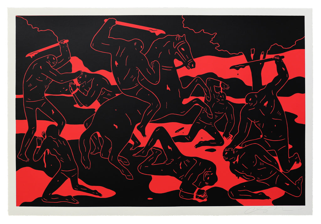 River of Blood by Cleon Peterson