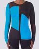 Color Blocking Long Sleeve - Brick Built  - 2