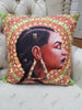 Gold Hollow Pillow Cover