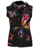 Butterfly Sleeveless Hoodie