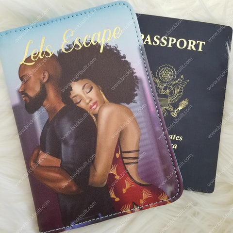 Let's Escape Passport Cover