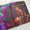black woman passport cover