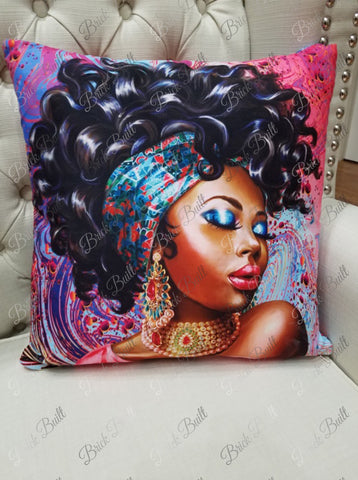 Unbothered & Cute 2 Pillow Cover