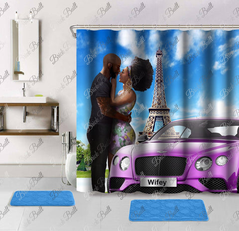 Wifey Shower Curtain