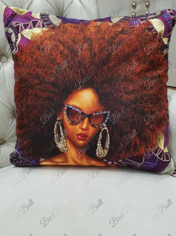black girl magic pillow