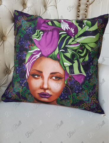 Wrapped Pillow Cover