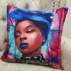 Blue Dreams Pillow Cover