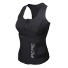Sweat Tank w/Waist Trimmer (Black)