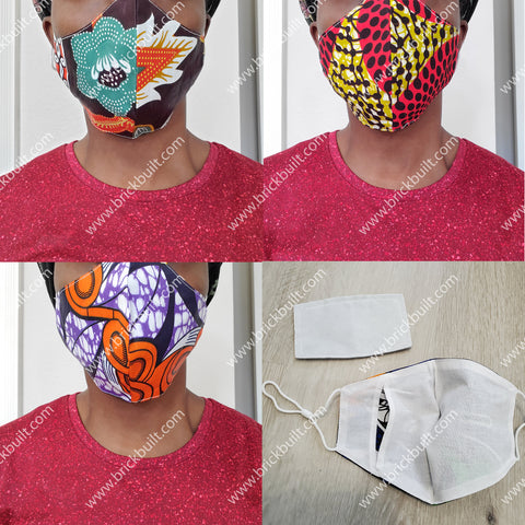 Mask with Adjustable Ear Loops