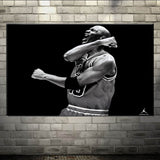 Canavs Painting NBA Michael Jordan  Home Decor Print On Canvas
