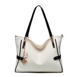 High Quality PU Leather Women  Bag Big Shoulder Bag Large