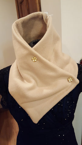 Fleece neck wrap