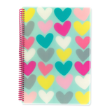 A4 polyprop notebook
