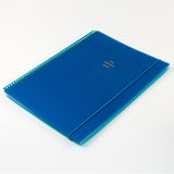 A4 polyprop notebook - Royal Blue