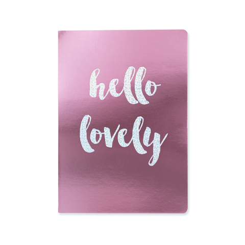A5 notebook - Hello Lovely
