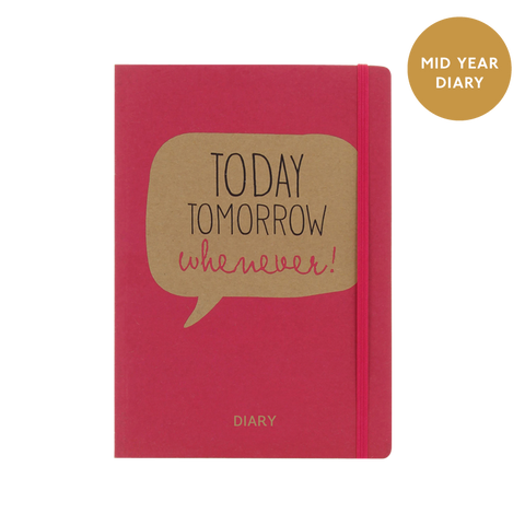 A5 week to view 2017/18 diary - Today Tomorrow