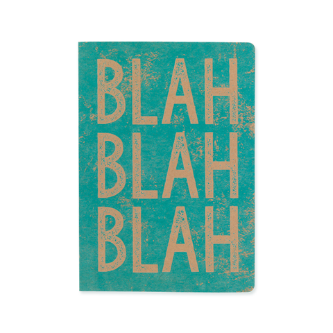 A5 notebook - Blah Blah