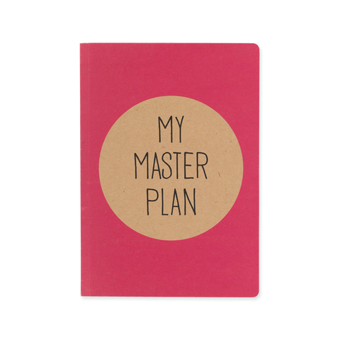 A5 notebook - Masterplan