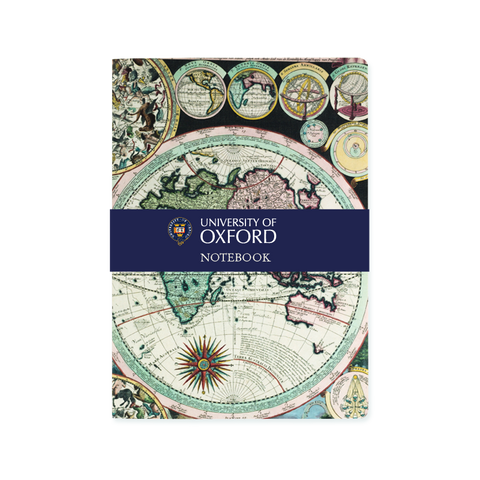 A5 notebook - Oxford Atlas