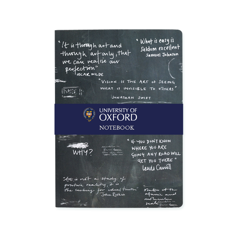A5 notebook - Oxford Chalkboard