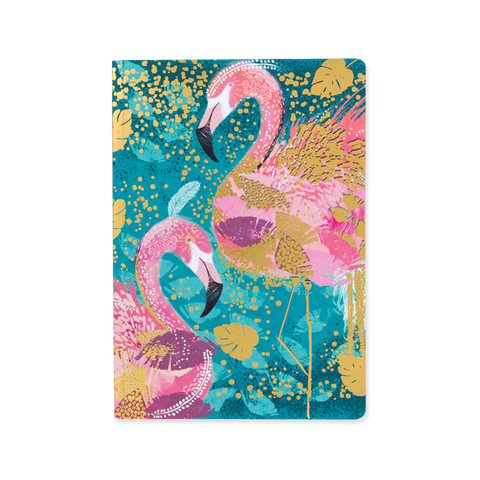 A5 notebook - Flamingo