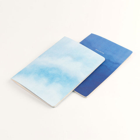 Set of 2 A5 Notebooks - Lovely