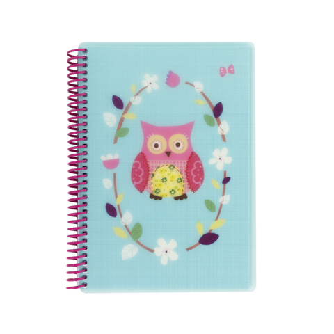 A5 polyprop notebook