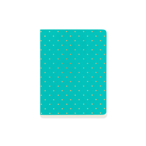 A6 notebook - Jade