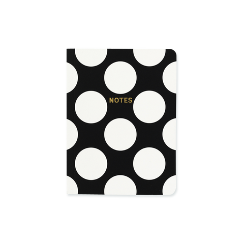 A6 notebook - Big Polka