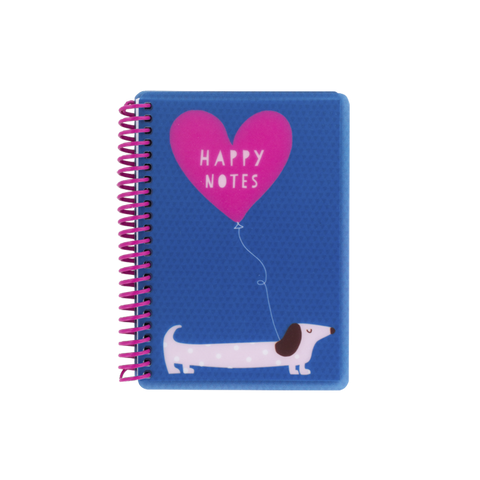 A6 polyprop notebook