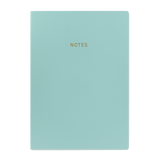 A4 notebook - Aqua Blue