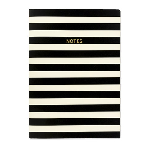A4 notebook - Mono Stripe